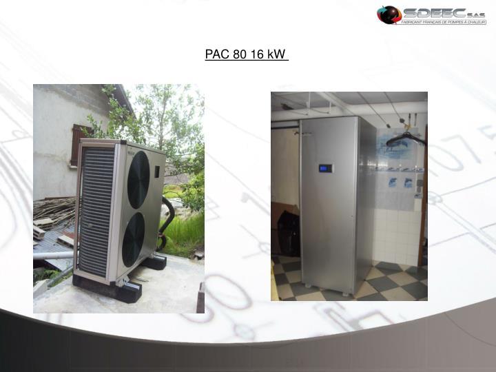 PAC 80 16 kW