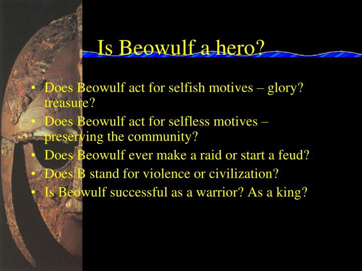 Is Beowulf a hero?