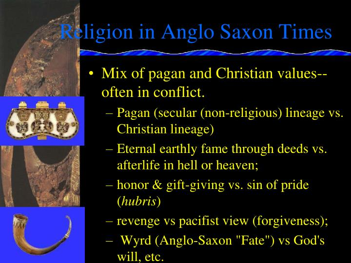 Religion in Anglo Saxon Times