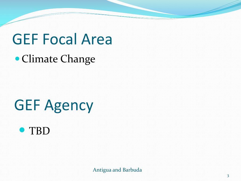 GEF Focal Area