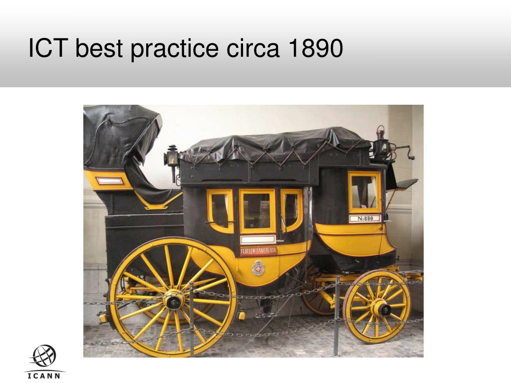 ICT best practice circa 1890