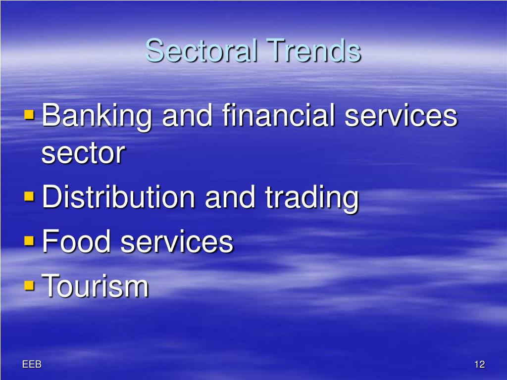 Sectoral Trends