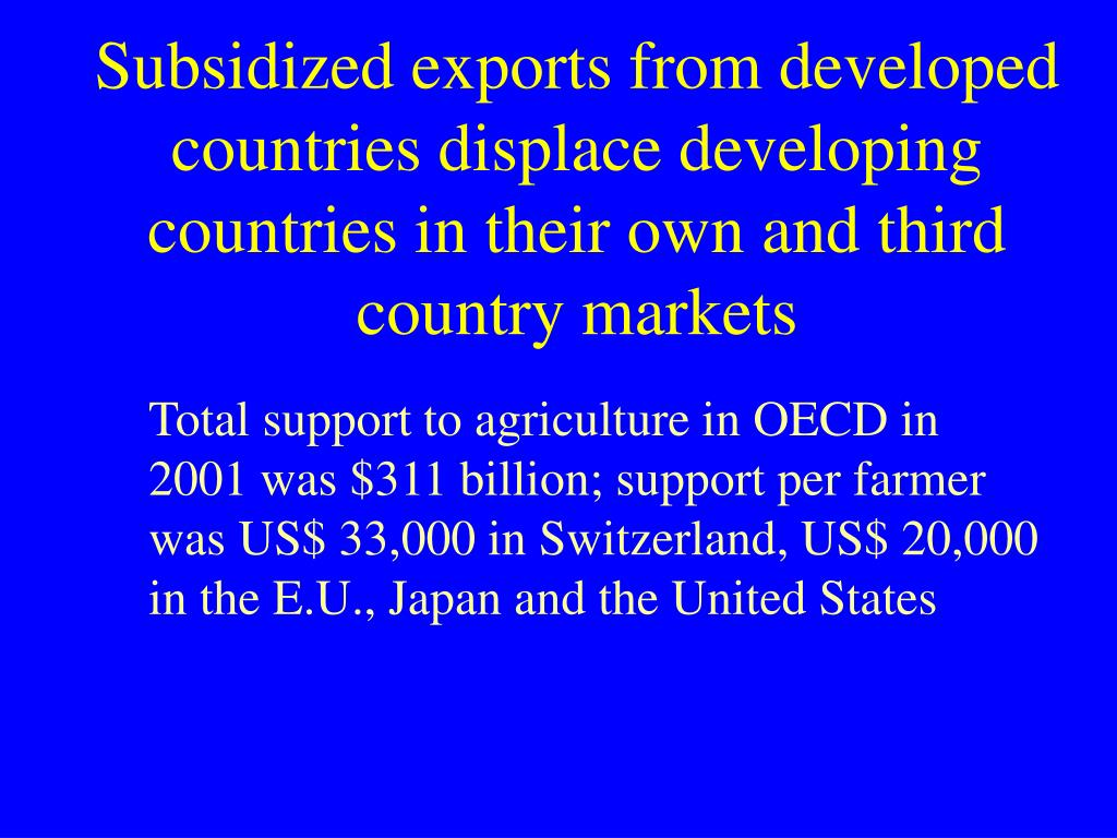 Subsidized e