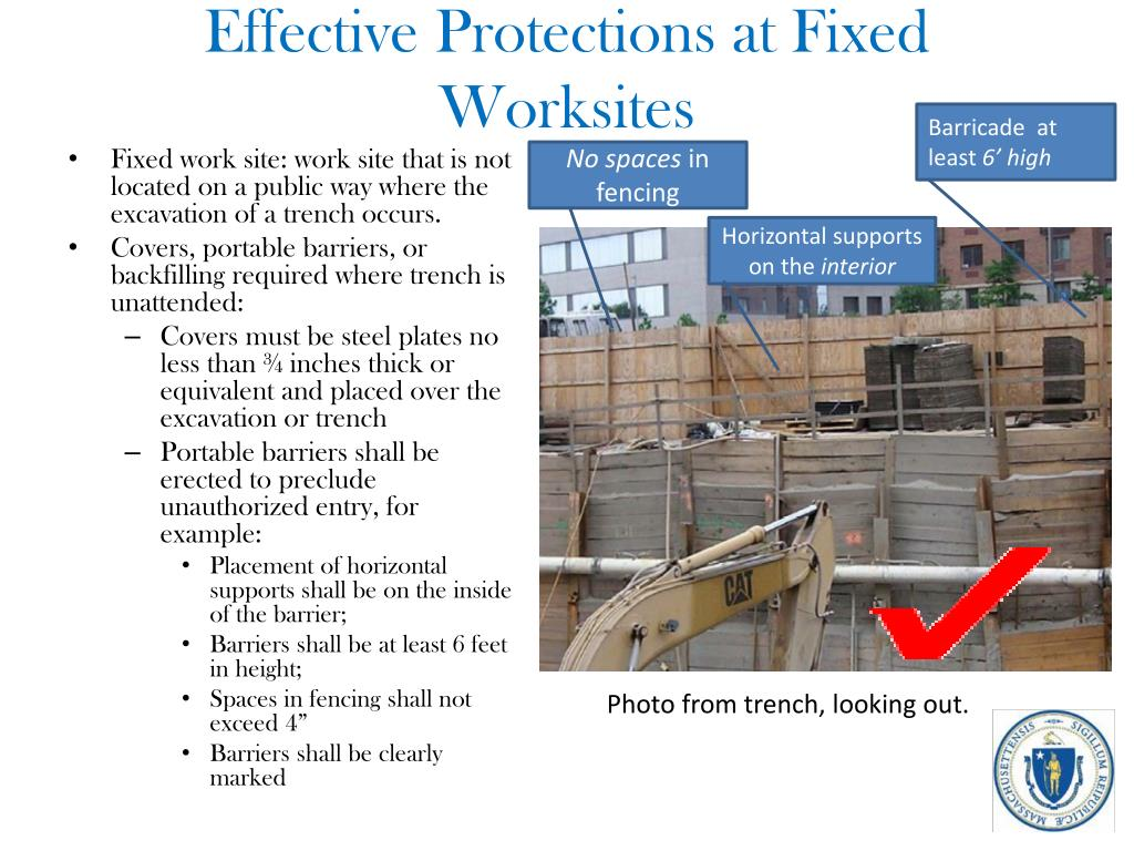 Effective Protections at Fixed Worksites