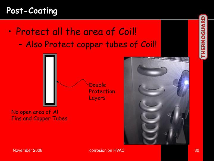 Protect all the area of Coil!