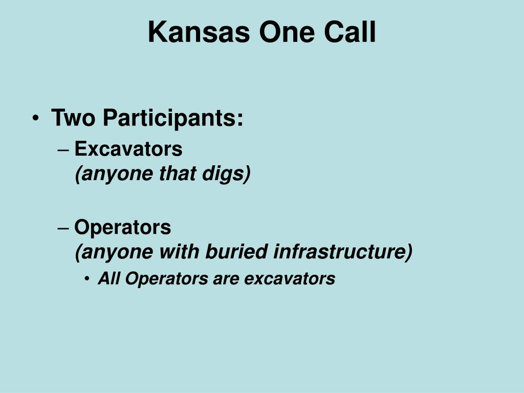 Kansas One Call