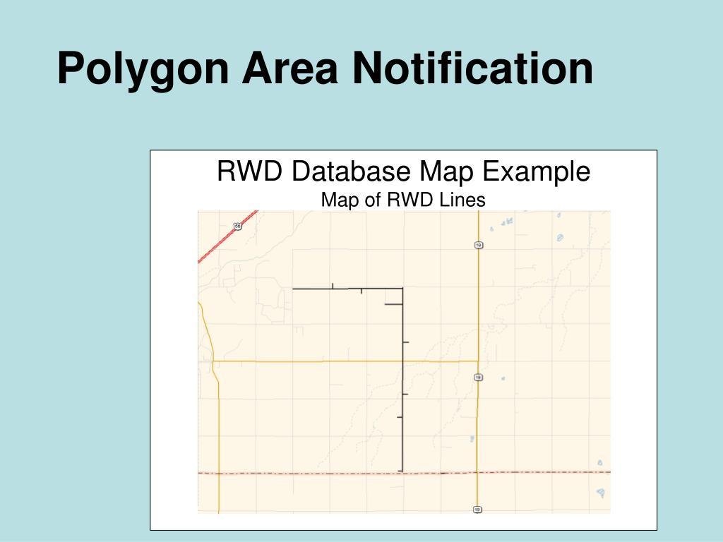 Polygon Area Notification