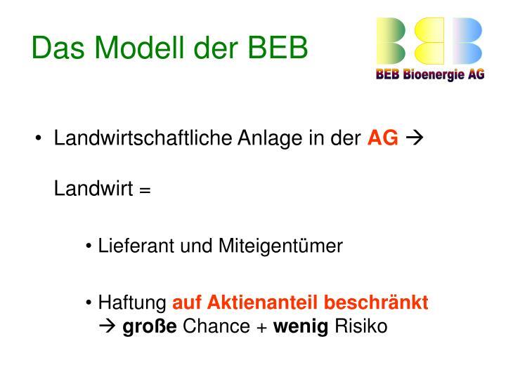 Das Modell der BEB