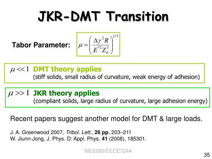 DMT theory applies