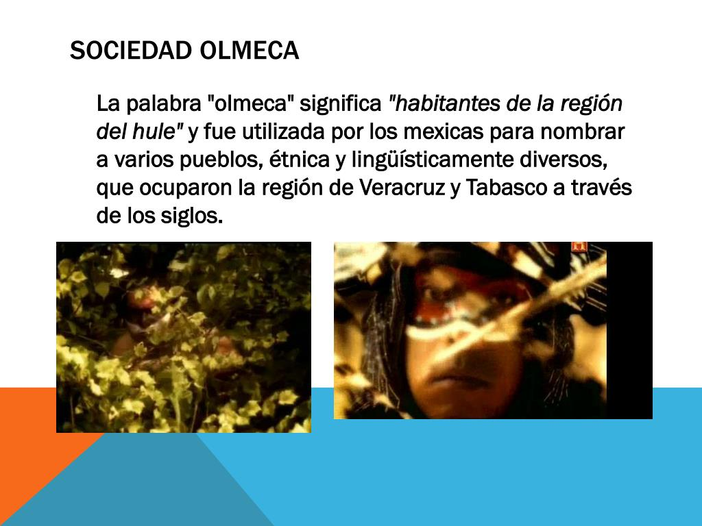 Sociedad Olmeca
