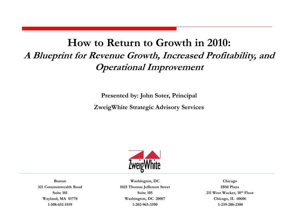 How to Return to Growth in 2010: