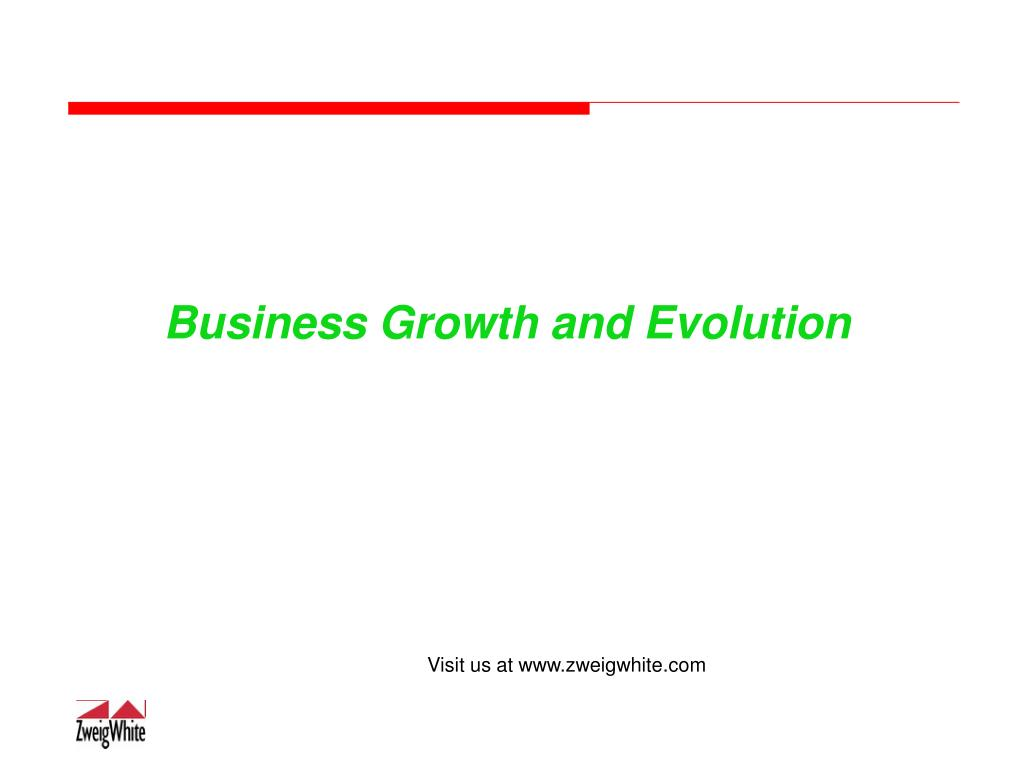 Business Growth and Evolution