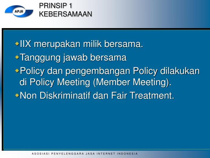 PRINSIP 1
