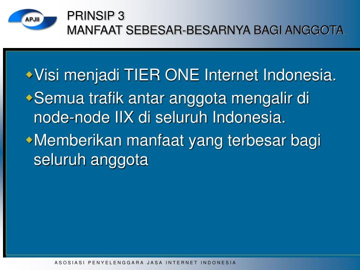 PRINSIP 3