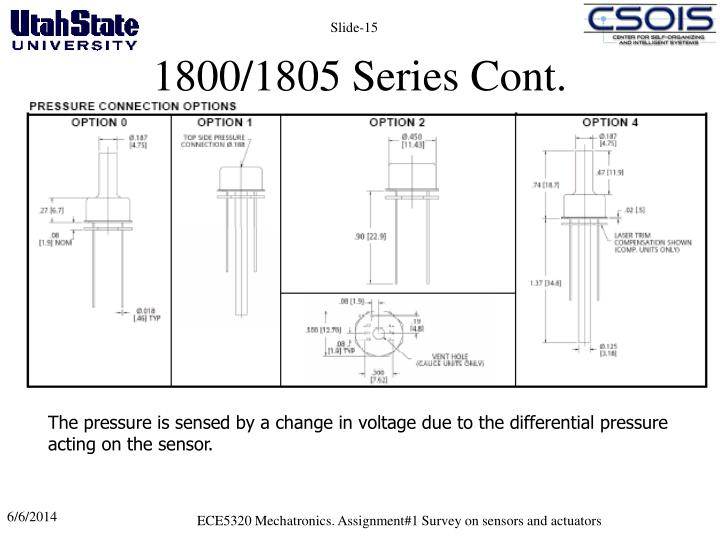 1800/1805 Series Cont.