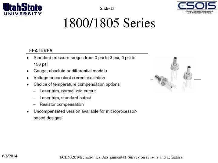 1800/1805 Series