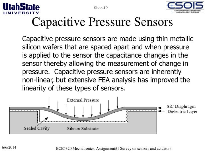 Capacitive Pressure Sensors