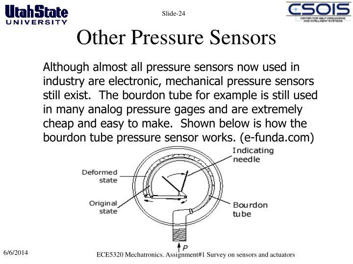Other Pressure Sensors