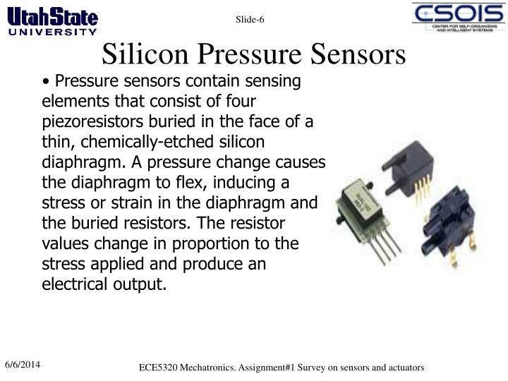 Silicon Pressure Sensors