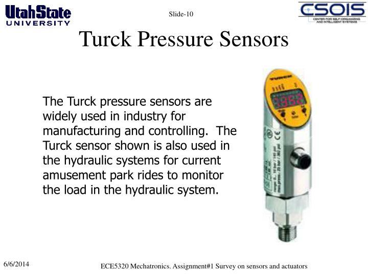 Turck Pressure Sensors