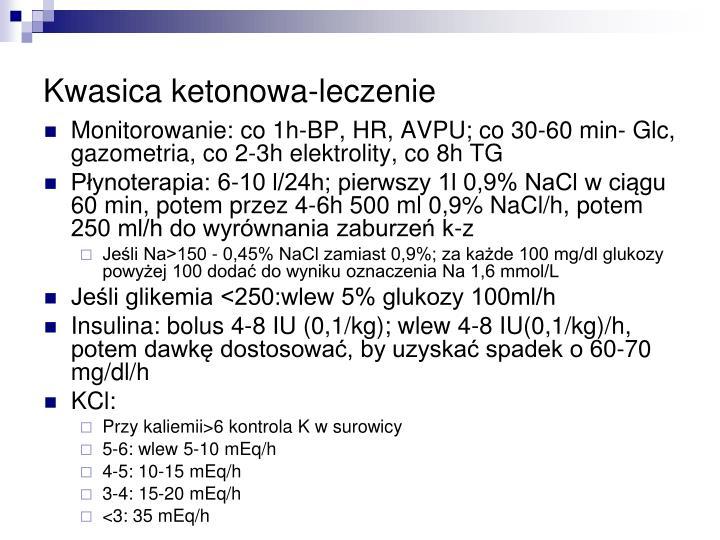 Kwasica ketonowa-leczenie