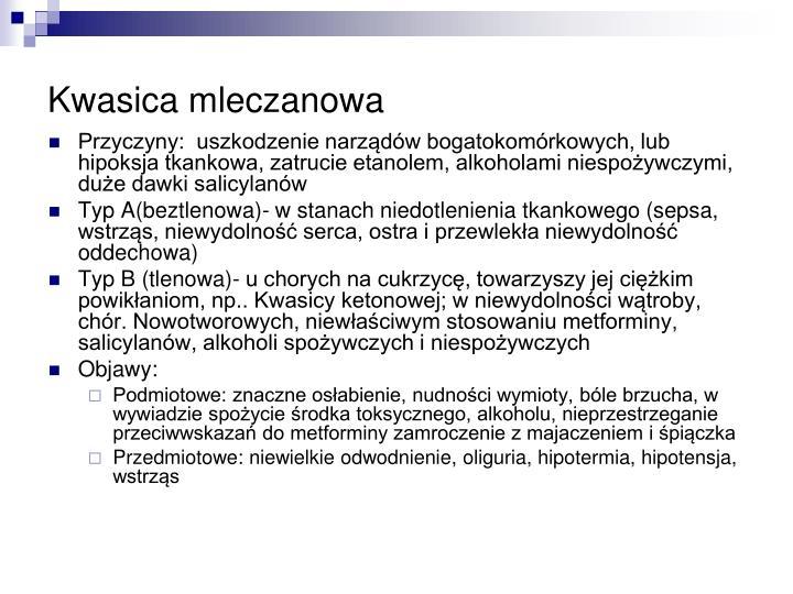 Kwasica mleczanowa