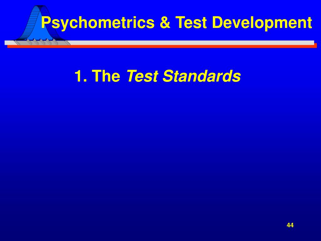 Psychometrics & Test Development