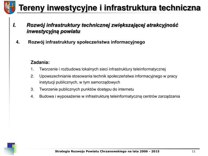 Rozwj infrastruktury spoeczestwa informacyjnego