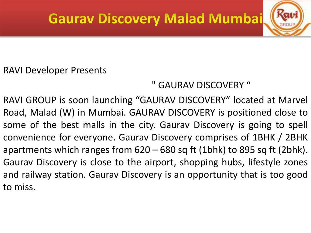 Gaurav Discovery Malad Mumbai