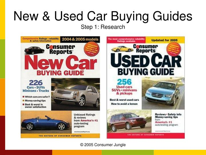 New & Used Car Buying Guides