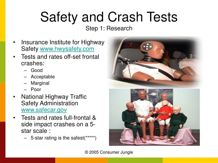 Safety and Crash Tests