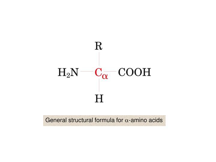 General structural formula for