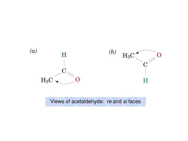 Views of acetaldehyde: