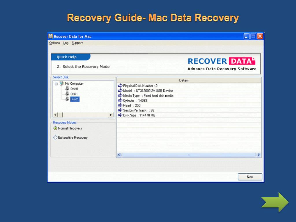 Recovery Guide- Mac Data Recovery
