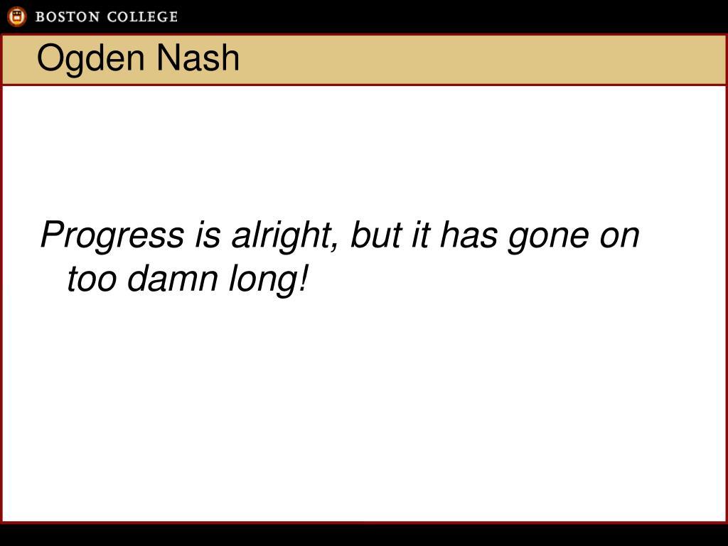 Ogden Nash