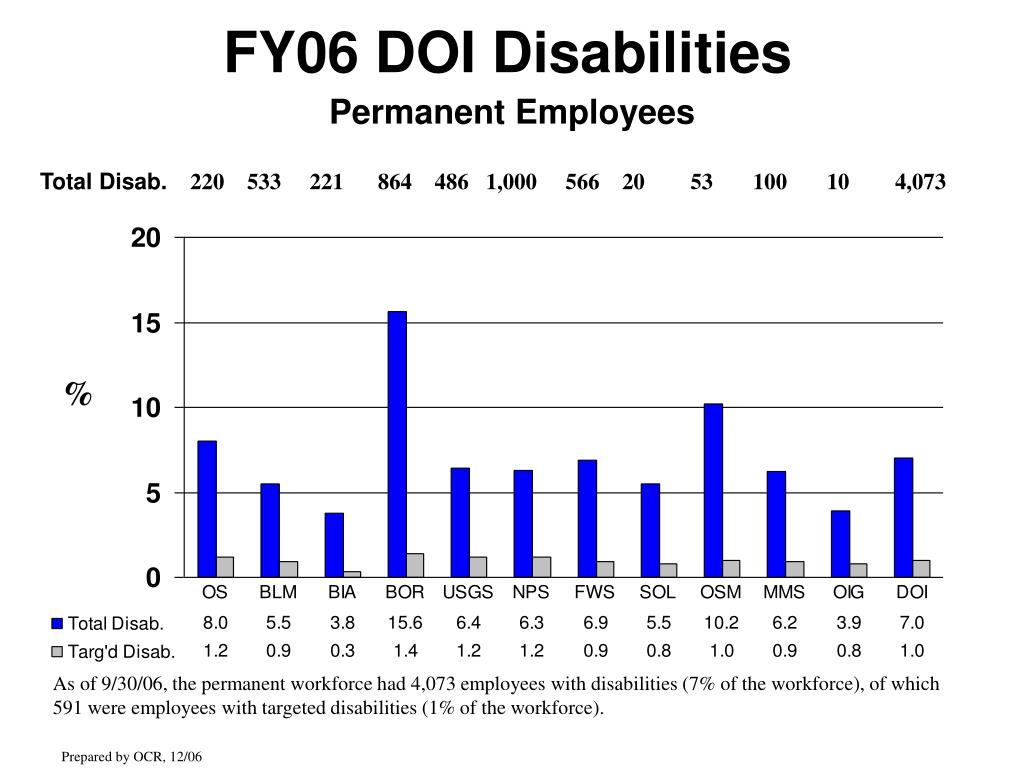 FY06 DOI Disabilities
