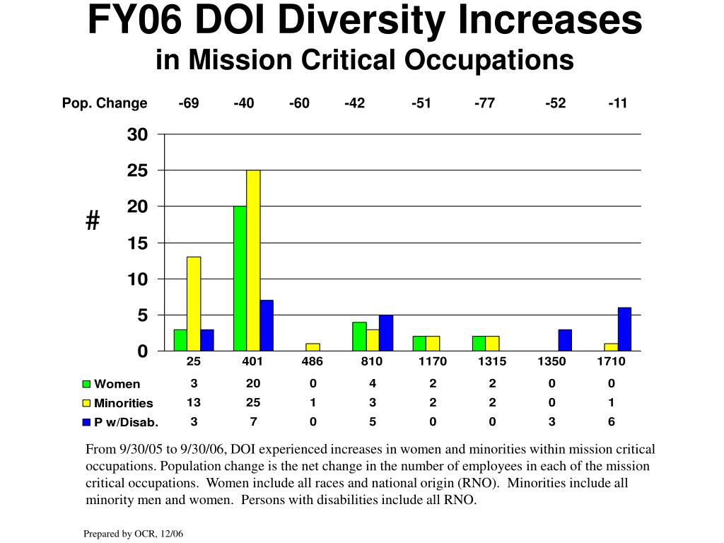 FY06 DOI Diversity Increases