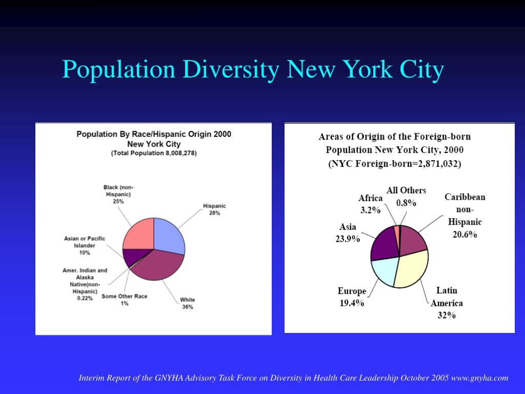 Population Diversity New York City
