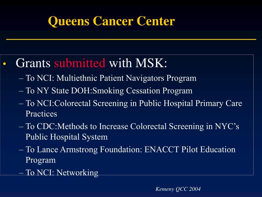 Queens Cancer Center