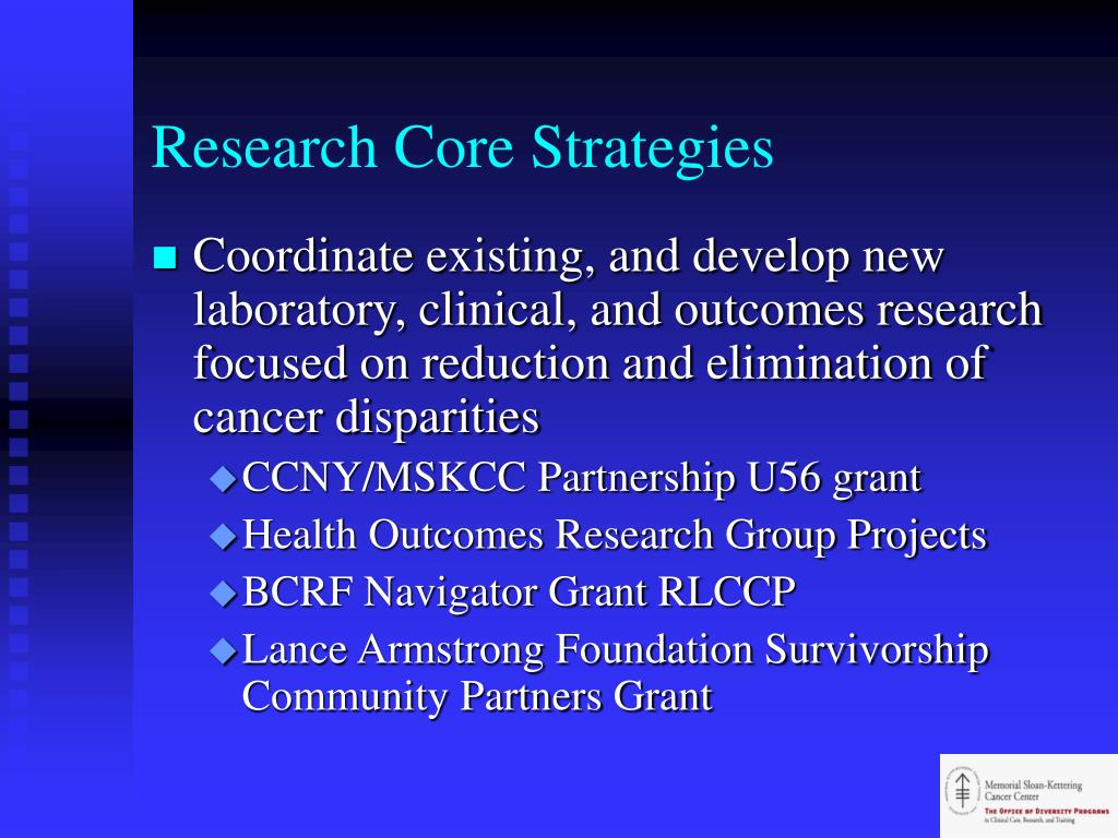 Research Core Strategies