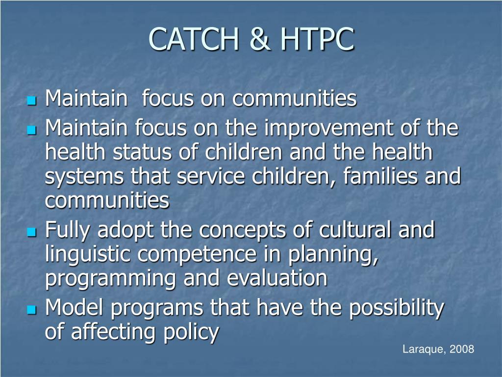 CATCH & HTPC