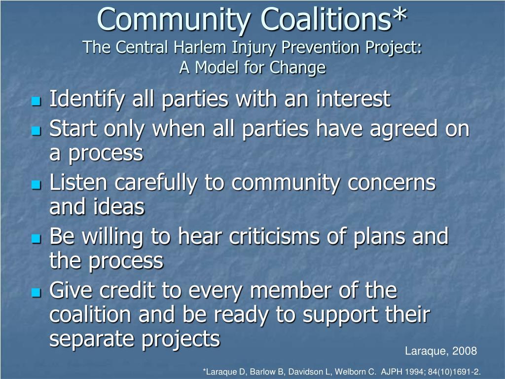 Community Coalitions*