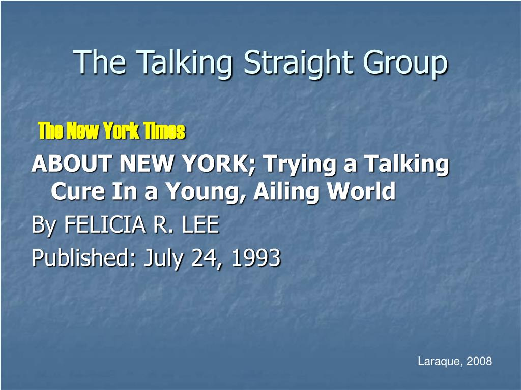 The Talking Straight Group