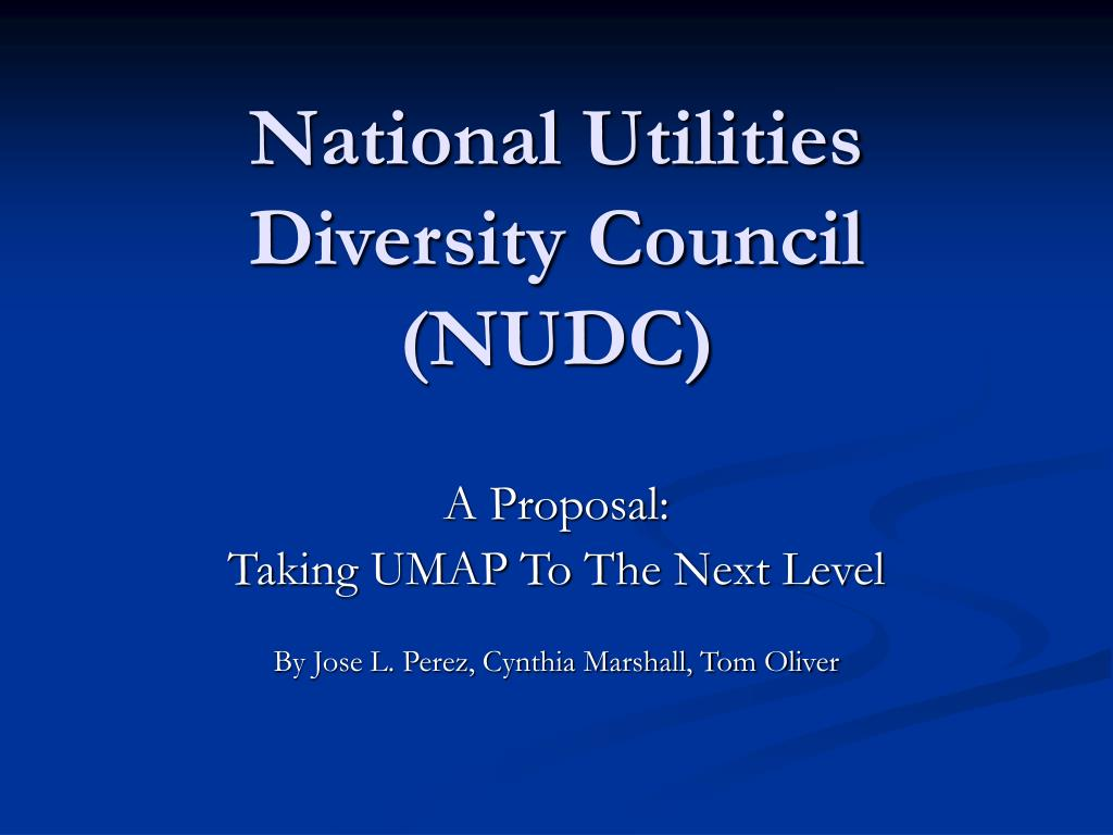 National Utilities Diversity Council