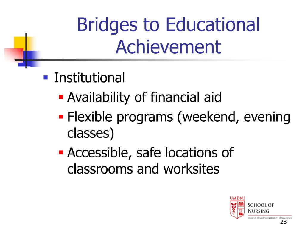 Bridges to Educational Achievement