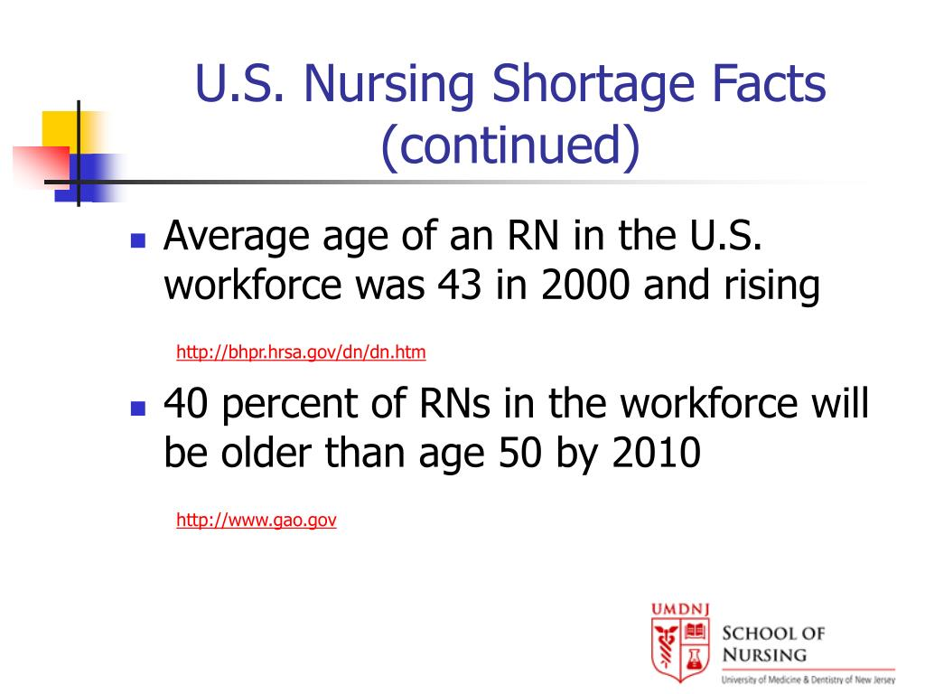 U.S. Nursing Shortage Facts (continued)