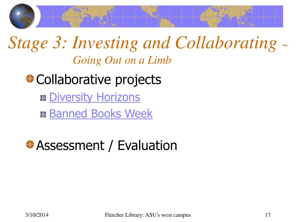 Stage 3: Investing and Collaborating