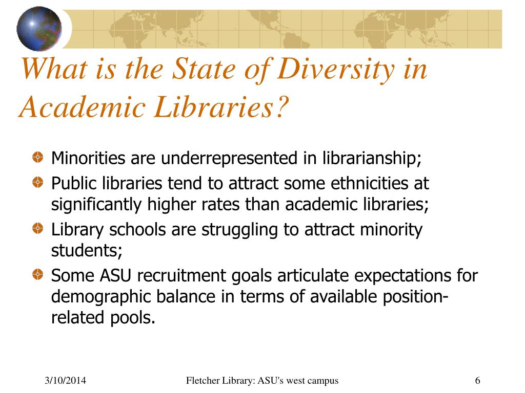What is the State of Diversity in Academic Libraries?