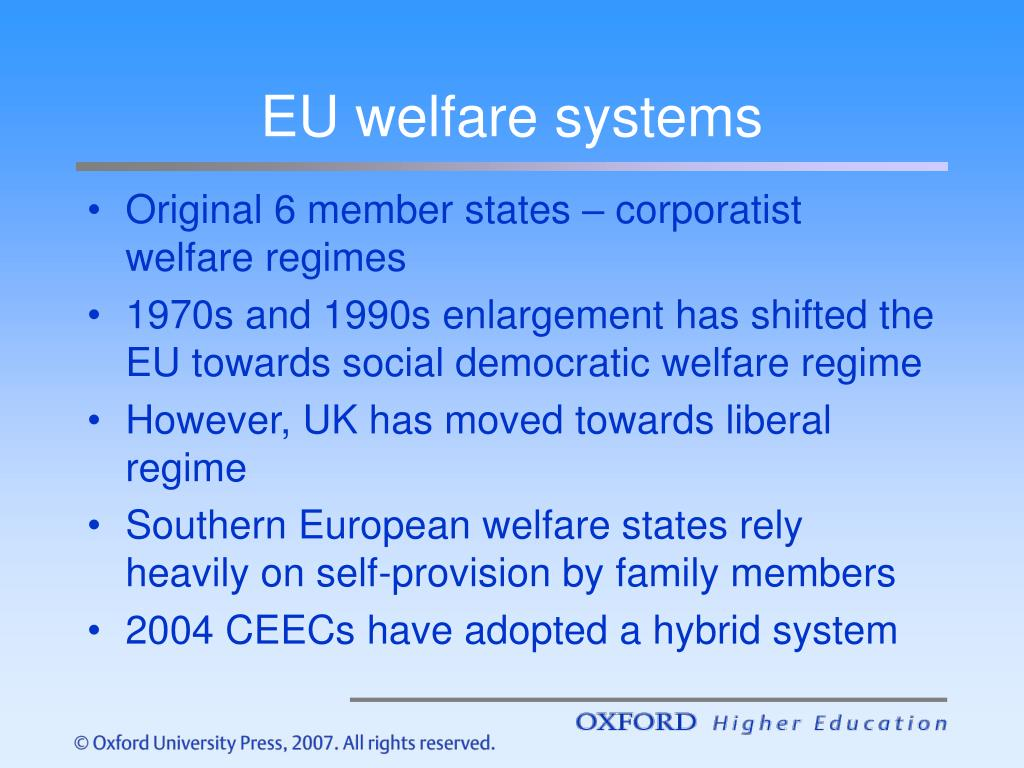 EU welfare systems