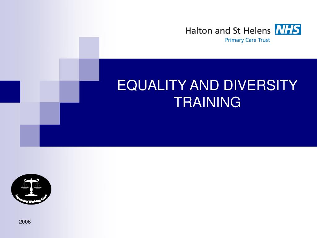 equality and diversity training